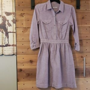 Gap Melrose Button Purple dress